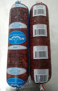 Blue Ridge Beef Recall